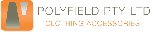 Polyfield Pty Ltd – Supplier, Distributor & Wholesaler of Zippers, Sewing Threads, Elastics, Buttons & more Logo